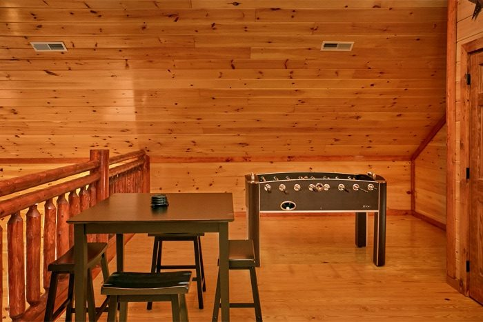 Premium Cabin with Spacious Lofted Game Room - The Preserve