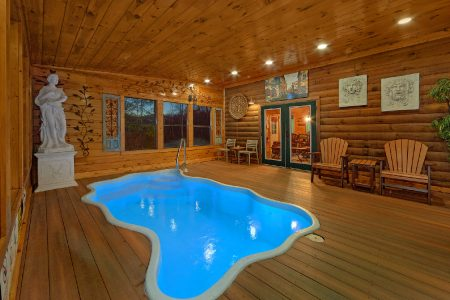 Beautiful Getaway: 2 Bedroom Sevierville Cabin Rental