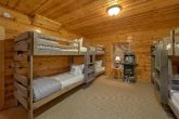 4 Bedroom Cabin with Kids Bunk Bed Room