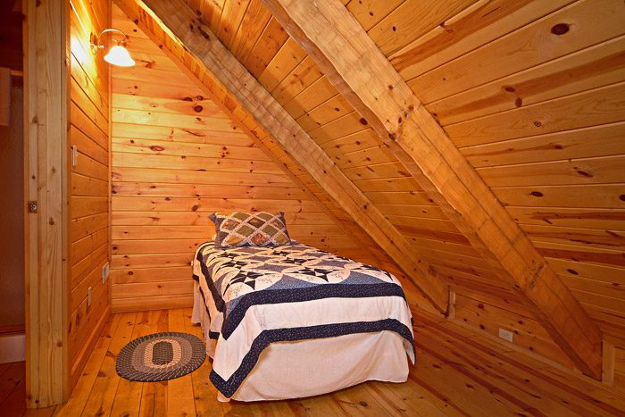 Twin Bed in Loft - This Away