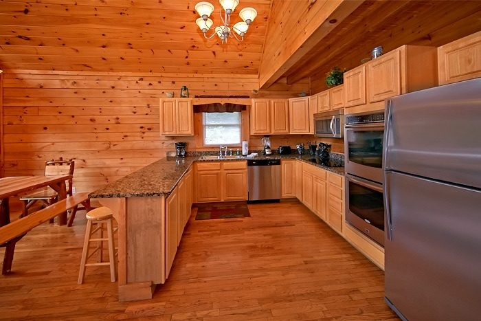 7 bedroom cabin with double oven - Timber Lodge