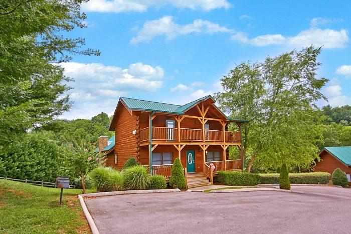 Timber Lodge Cabin Rental Photo
