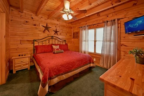 7 bedroom cabin with 4 master suites - Timber Lodge