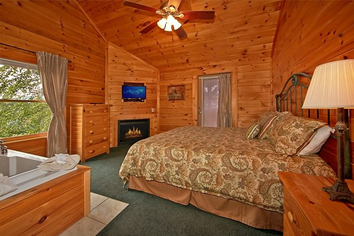 7 bedroom cabin with 2 jacuzzi tubs - Timber Lodge