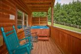 Cabin with resort pool and 2 hot tubs