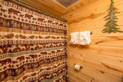 Pigeon Forge 2 Bedroom Cabin Sleeps 8 - Tin Pan Alley