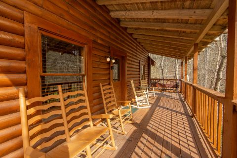 2 Bedroom Cabin Sleeps 8 with Rocking Chairs - Tin Pan Alley