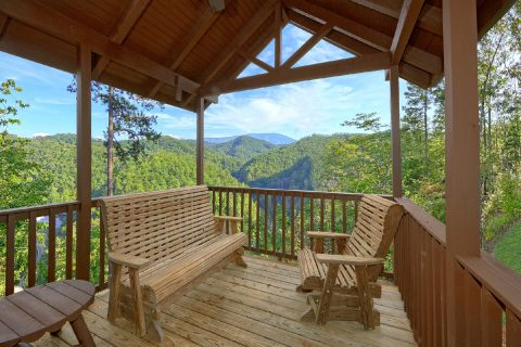 Large Deck with Rocking Chairs - Tip Top