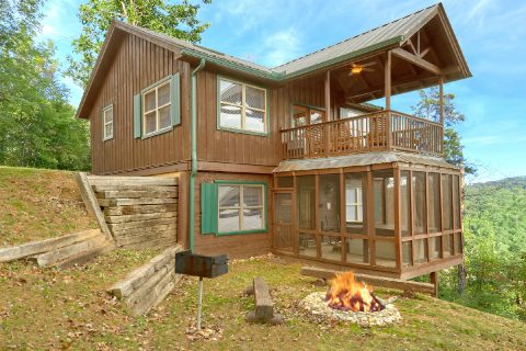 2 Bedroom 2 Story 2 1/2 Bath Cabin Sleeps 6 - TipTop