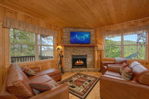 Cabin with Living Room with Views - Tip Top