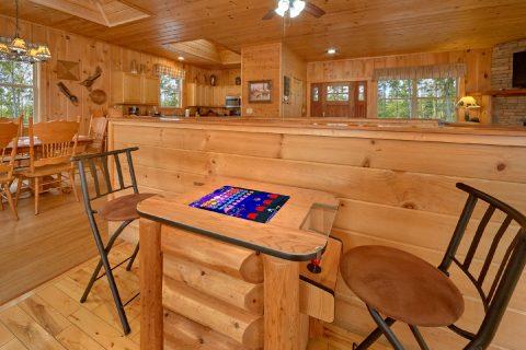 Arcade Game 2 Bedroom Cabin Wears Valley - Tip Top