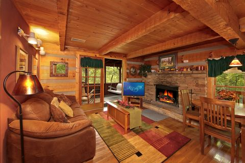 Rustic 1 Bedroom Cabin in Wears Valley - Top of the Mountain