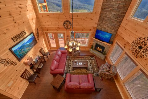 5 Bedroom Cabin with 3- Levels - TrinQuility View
