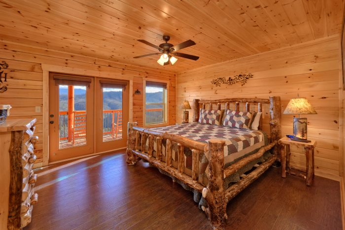 5 Bedroom Pool Cabin with 3 King Beds - TrinQuility View