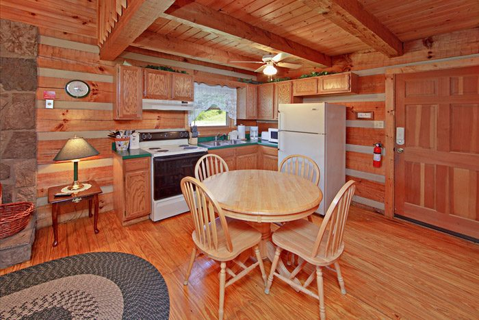 Cabin with Kitchen and Dining Table - Tucked Away