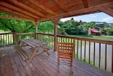 Cabin with Picnic Table on Deck