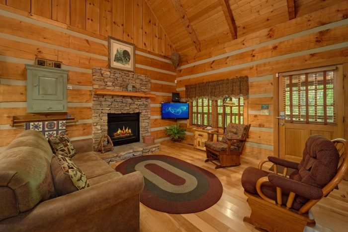 1 Bedroom Cabin in Wears Valley - Turtle Dovin'