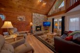 Cozy 3 bedroom cabin with a gas fireplace