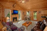 Rustic Cabin with Fireplace in the Living Area