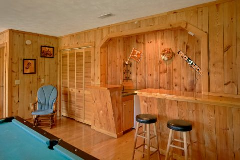 Wears valley Cabin with Pool Table and Bar - Valley View