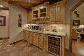 Luxurious Kitchen with Wine Bar and extra sink