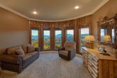 Spacious King bedroom with Recliner and Views