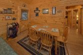 Dining Room for 6 in 2 bedroom cabin