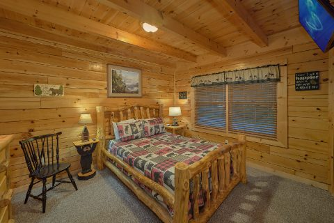 2 bedroom cabin with private hot tub - Wander Back Inn