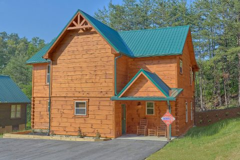 4 bedroom luxury cabin with flat parking - Whistling Dixie