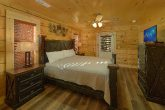 Master Bedroom with King Bed in 4 Bedroom Cabin