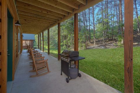 Gas Grill and Rocking Chairs 4 Bedroom Cabin - Whistling Dixie