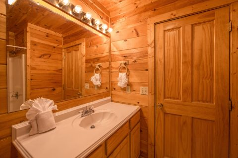 Cabin with Master Bedroom and Private Bath - Wilderness Lodge