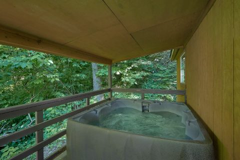 Private Hot Tub Coved Porch - Willow Brook