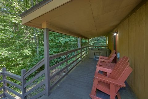 Covered Deck 2 Bedroom Near Dollywood - Willow Brook