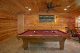 Game Room with Pool Table 3 Bedroom Cabin