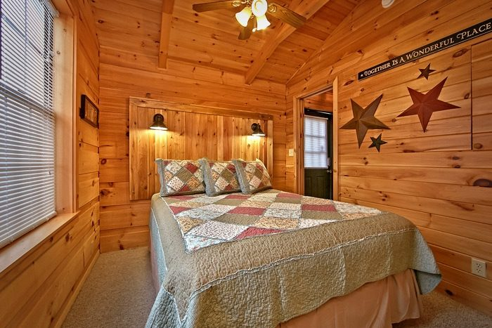 Cabin with Queen bedroom - Wonderland