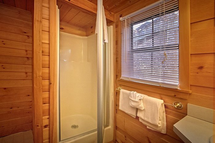 Cabin with private shower - Wonderland